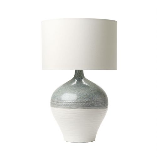 Forli Table Lamp Blue/Grey/Ivory Base Only